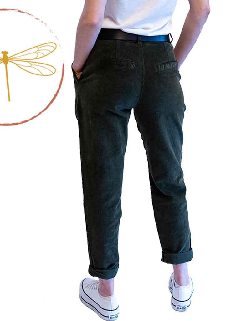 Pantalon Mili Velours