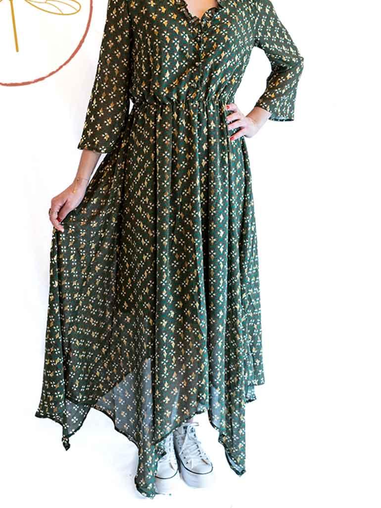 Robe longue Jade