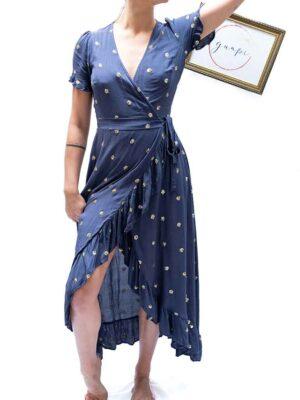 Robe Tulsi bleue