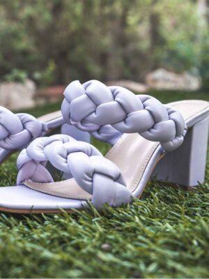 Sandales Lilas