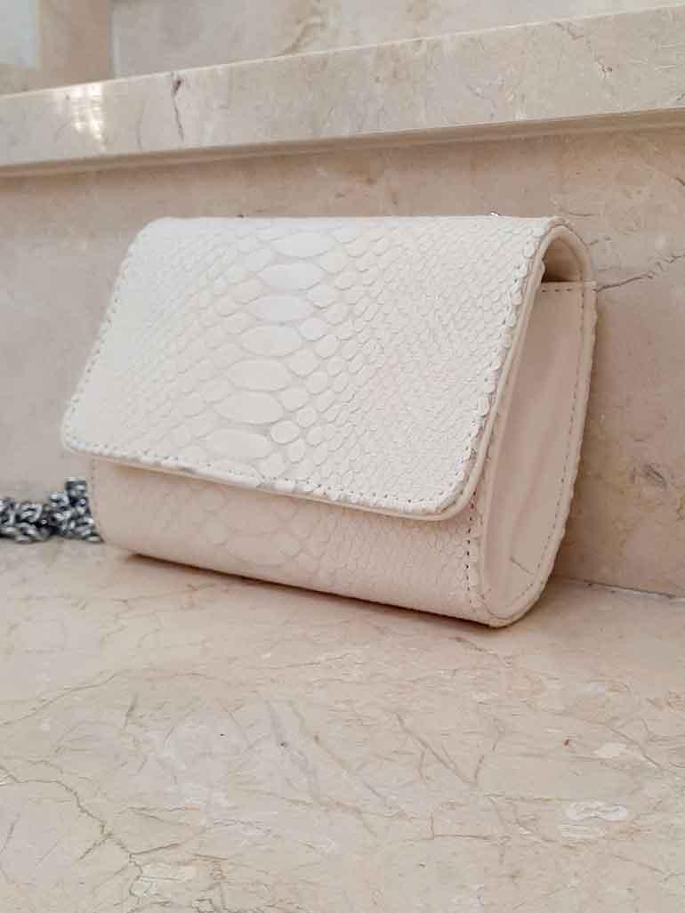 Mini sac beige